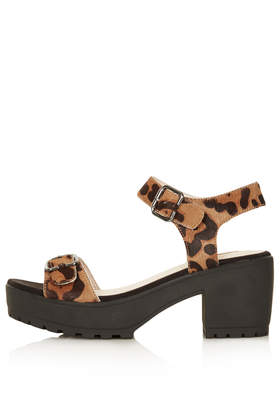 NATION Two Part Cleated Sandal - Topshop
