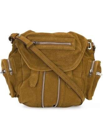 mini backpack brown bag