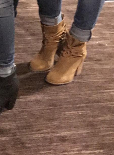 shoes tan booties
