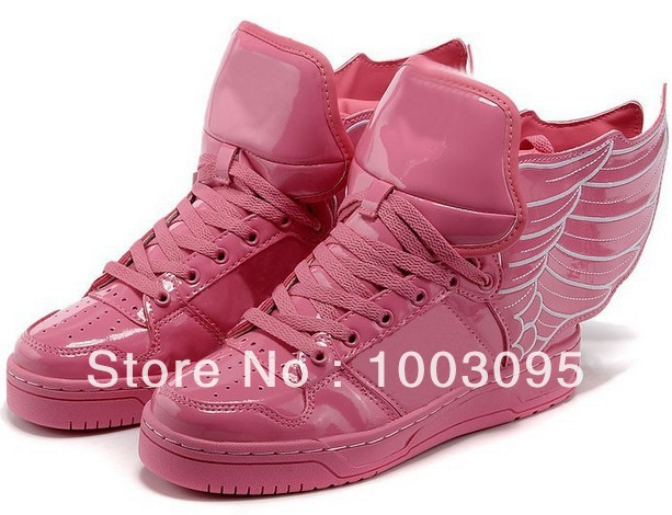 Free transport Feigusiding high-top shoes wings shoes shoes shoes women casual trend of hip-hop