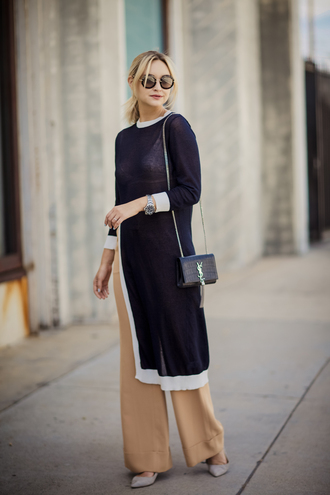 late afternoon blogger pants shoes jewels bag sunglasses