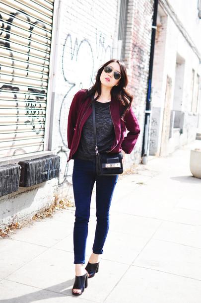 her imajination jacket shirt jeans shoes bag