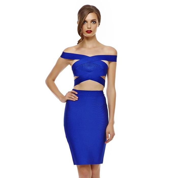 Saria 2 Piece Bandage Dress