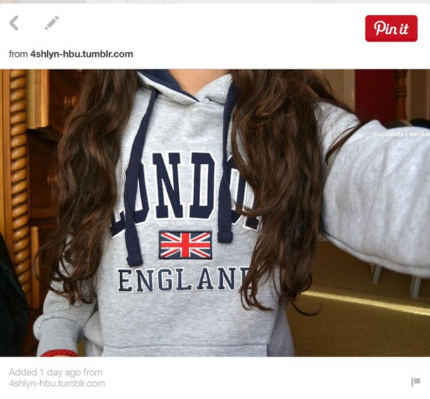 shirt sweater england london