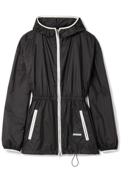 Prada jacket shell black