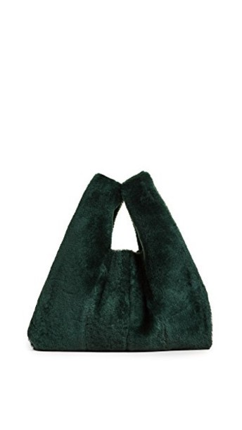 kara mini bag green