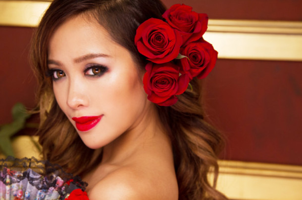 Spanish Hair Styles: Hat: Crow, Crown, Rose, Flowers, Michelle Phan, Make-up