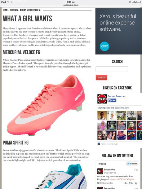 shoes pink and ombre soccer boots
