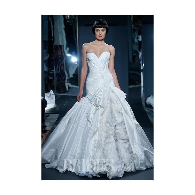 Mark Zunino for Kleinfeld - 2014 - Style 73 Strapless Silk Taffeta ...
