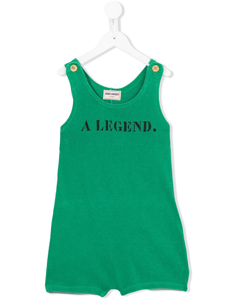 Bobo Choses Legend playsuit, Toddler Girl's, Size: 5 yrs, Green