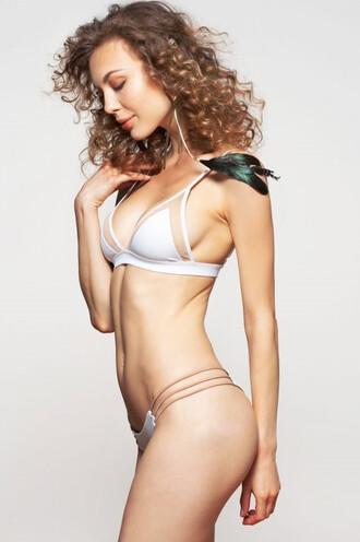 swimwear bikini bottoms dbrie swim skimpy white bikiniluxe