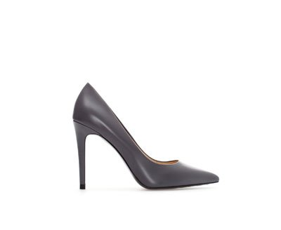 Fancy - Zara Leather High Heeled Court Shoe