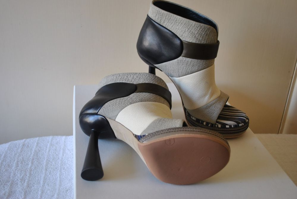 balenciaga 2010 color block heels shoes 37 $950