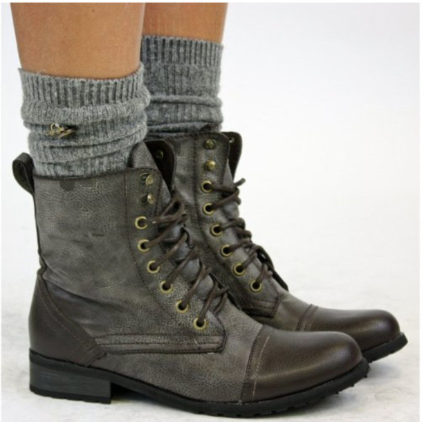 Shoes: boots, cute, combat boots, military boots - Wheretoget