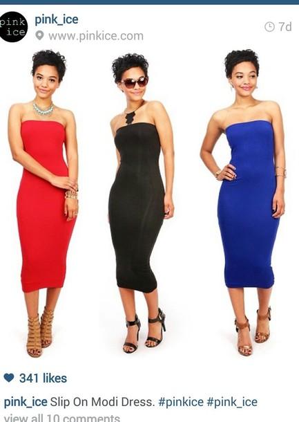 4051503ccfe35 dress, midi dress, tube dress, dress, party dress, affordable ...