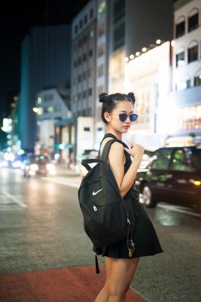 e0fa641cc2 bag dark pale nike backpack nike bag adidas japan grunge tumbr sunglasses