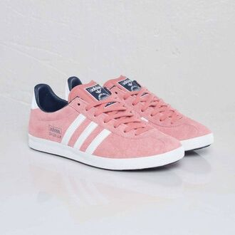 shoes adidas pink sneakers rose