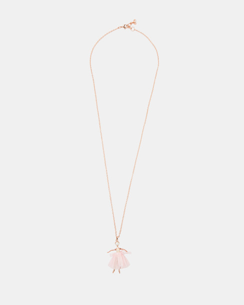 Ted Baker necklace pink jewels