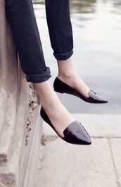 shoes,loafers,black shoes,smoking slippers,minimalist shoes,nordstrom,black loafers