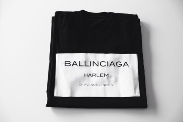 sweater ballinciaga black shirt t-shirt white