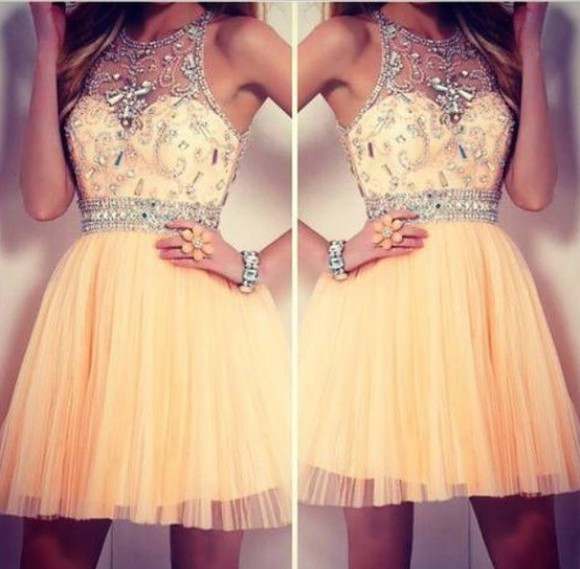 jewels peach short