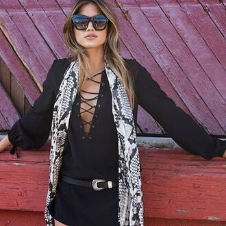top cotton candy la lace up lace up top bell sleeves bell sleeves top black top