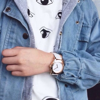 nail accessories watch gold