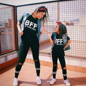 blouse,bbf,bff,bbf shirts,bff shirts,best friends tshirt,mommy and me,mommy and me t shirts,tees2peace