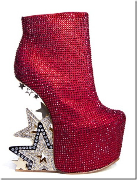 fd3cfc0f80041 shoes ziginy red high heels silver shoes sparkle high heels heel less shoes  glitter fancy