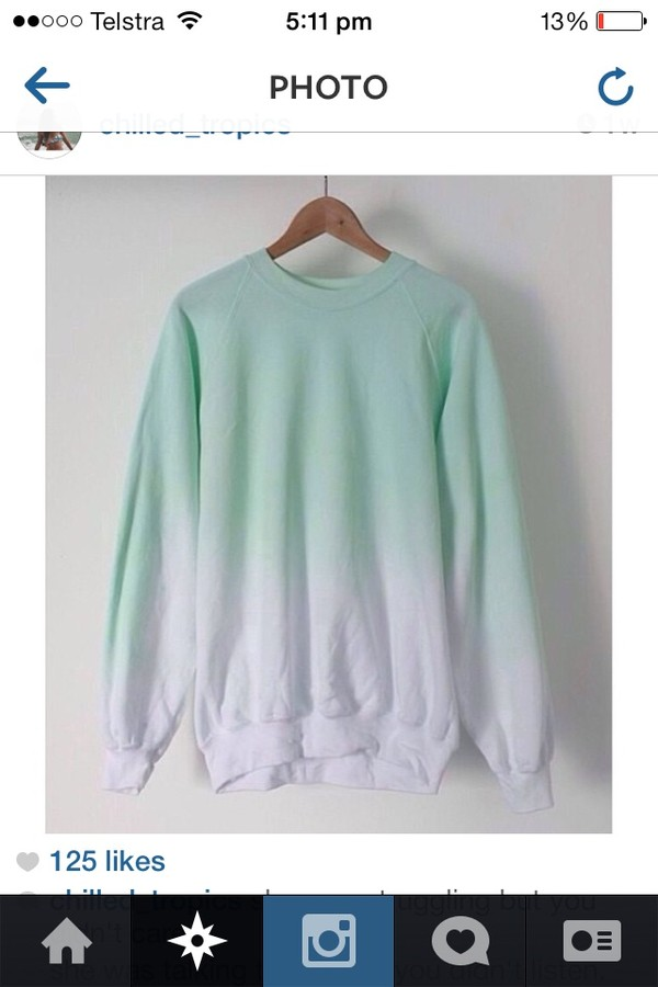 sweater ombre jumper