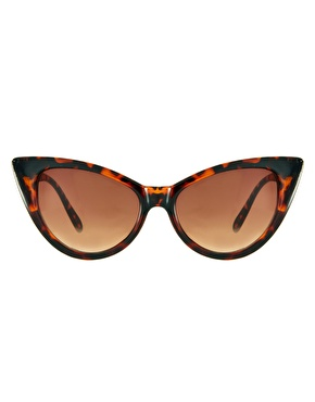Jeepers Peepers | Jeepers Peepers Leia Tortoise Shell Sunglasses at ASOS