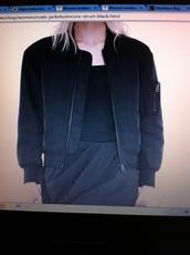 jacket,black,bomber jacket