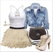 skirt,tulle skirt,poofy skirt,tank top,shoes