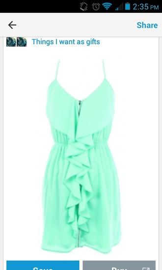 mint mint dress short dress zip green dress mini dress