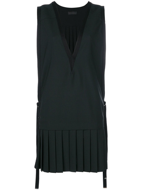 dress shift dress women wool black