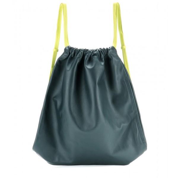 Alexander Wang Gym Sack Leather Backpack
