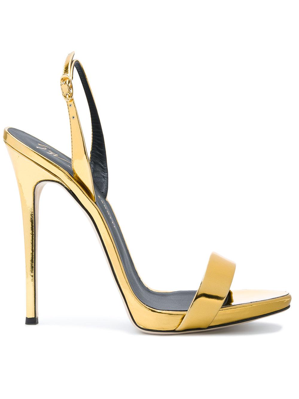 22fe9f70102a Giuseppe Zanotti Design Sophie Minimal Sandals - Farfetch