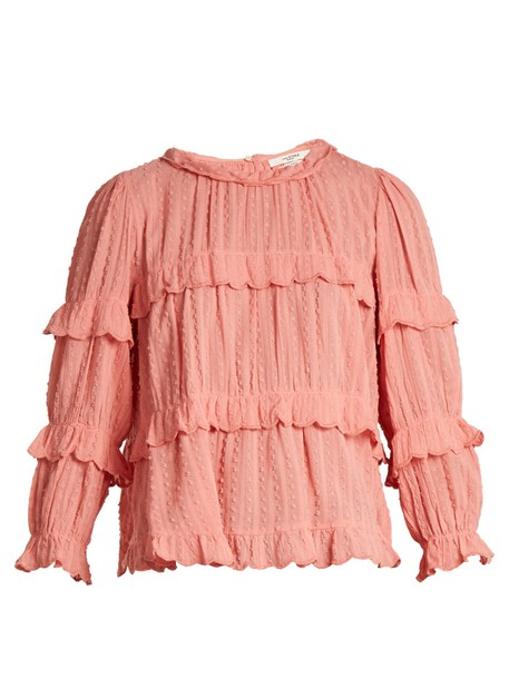 Isabel Marant etoile blouse pink top