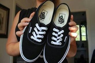 shoes vans black black vans grunge rock indie