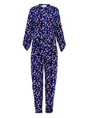 Monia blossom-print jumpsuit | Stella McCartney | MATCHESFASHION.COM