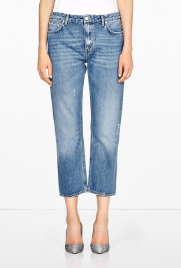 Acne | Pop Lt Vintage Boyfriend Cropped Jeans by Acne