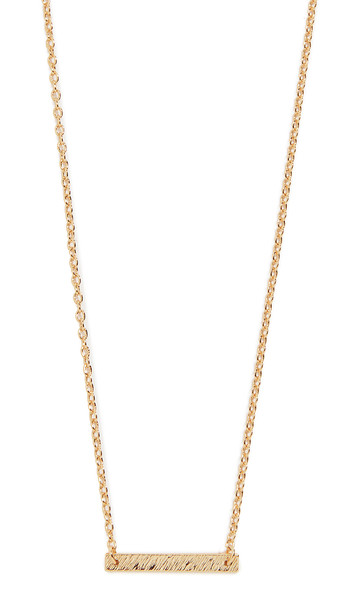 Gorjana Knox Necklace in gold / yellow