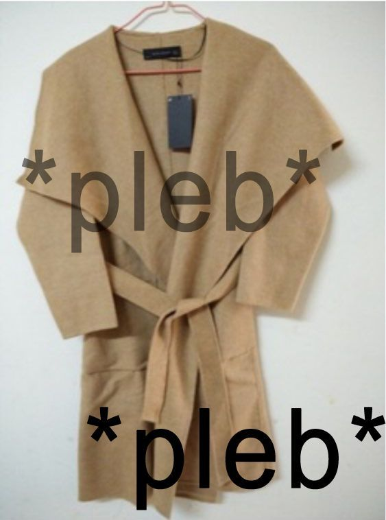 Zara Camel Long Coat S/M International Shipping NO GLOBAL EBAY SHIPPING CUSTOMS