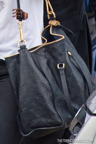 bag black louis vuitton shoulder bag louis louis vuttion vuitton purse designer tote bag beautiful bags leather
