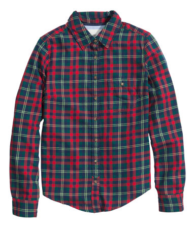 H&M Flannel Shirt $15