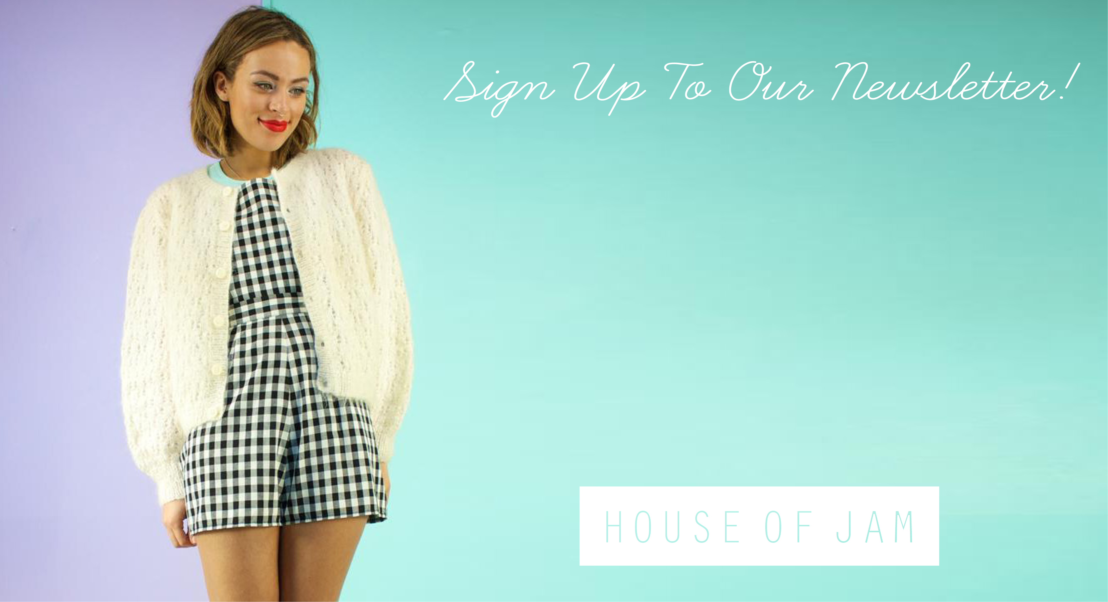 We Are House Of Jam, Handpicked Vintage & Exclusive Original Designs