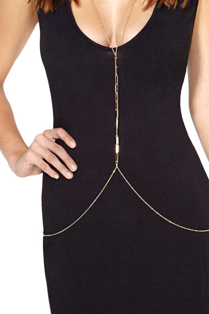 Tina Body Chain at Nasty Gal
