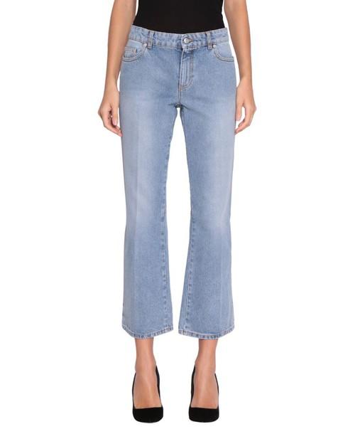 Alexander Mcqueen jeans denim cotton