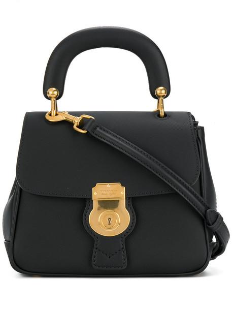Burberry women bag leather black