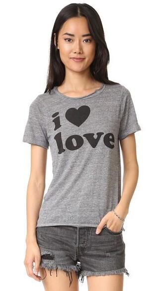 love grey top